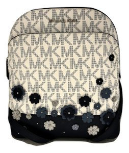 Michael Kors Emmy Small Signature Mk Navy Backpack 24% off retail