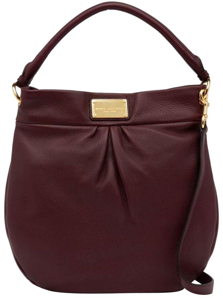 Marc Jacobs Leather Suede Hobo Bag