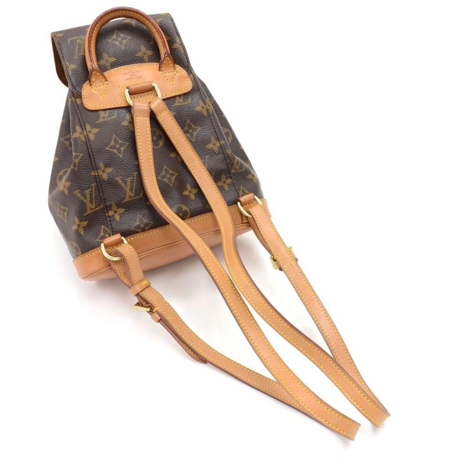 louis vuitton montsouris vintage mini monogram brown canvas backpack tradesy. Black Bedroom Furniture Sets. Home Design Ideas