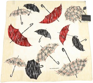 Burberry Burberry Umbrella Print Silk Scarf
