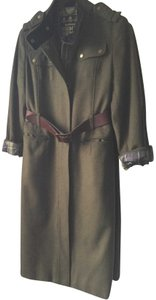 Barbour Cashmere Military Trench Coat