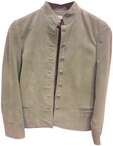 Charter Club Suede Casual Lime grewn Jacket