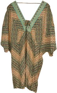 Nanette Lepore Paso Robles Embellished Cover Up Tunic Dress Size M