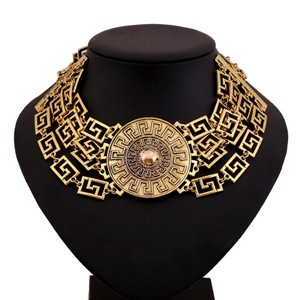 Versace VERSACE FOR H&M Collection,Gold Medallion Choker, Limted Edition