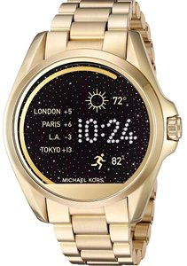 Michael Kors Michael Kors Unisex Gold Bradshaw Steel Smart Watch MKT5001