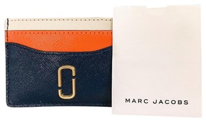 Marc Jacobs Leather Small Card Holder Wallet
