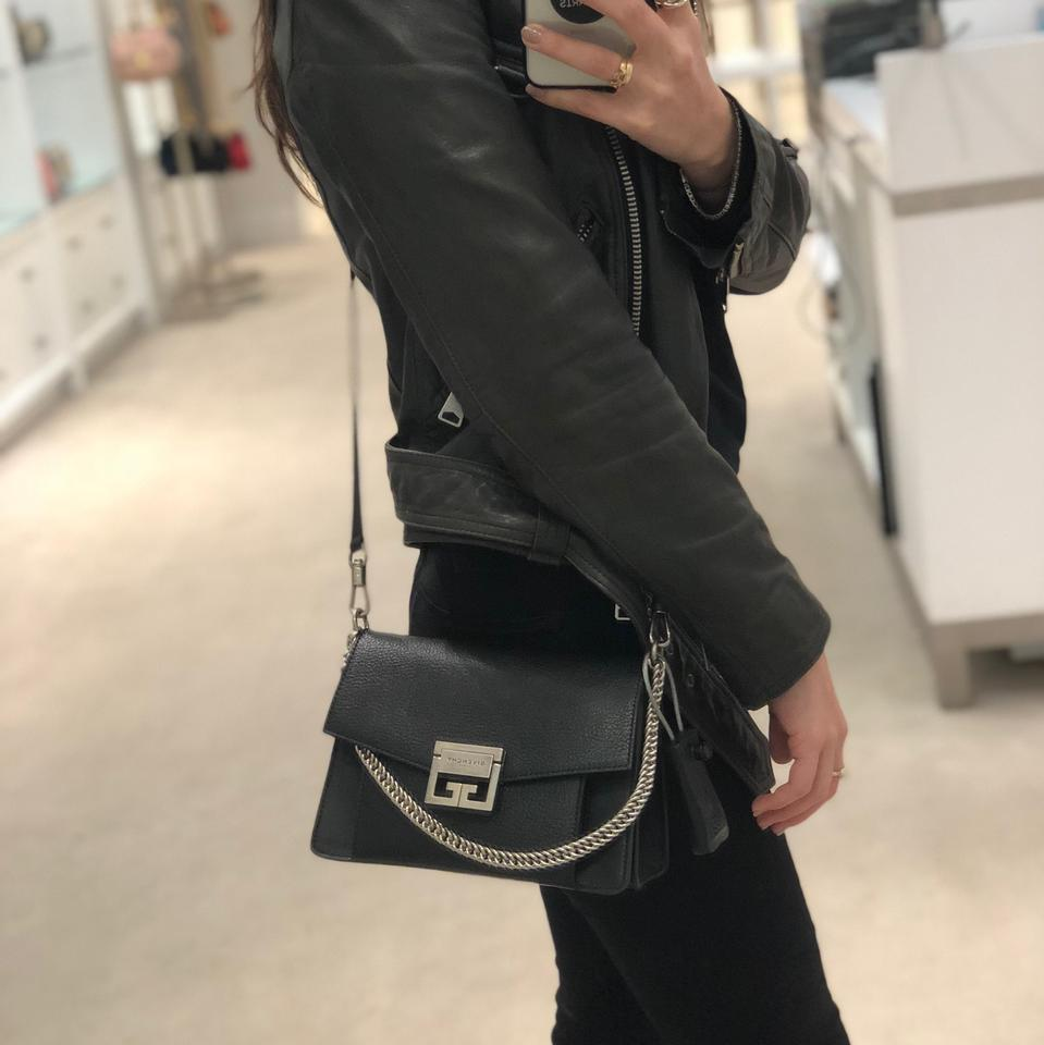 582b34568077 Givenchy Gv3 Crossbody Clutch Black Leather Cross Body Bag - Tradesy