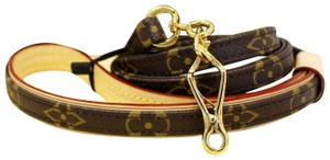 Louis Vuitton LOUIS VUITTON Monogram Canvas Baxter Dog Leash MM