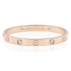 Cartier Authentic Love Bangle in Yellow Gold (18843)