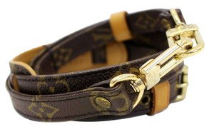 Louis Vuitton LOUIS VUITTON Monogram Brown Long Strap for LV Bags