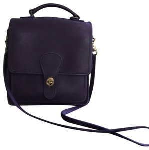 Coach Vintage Leather Hand Cross Body Bag