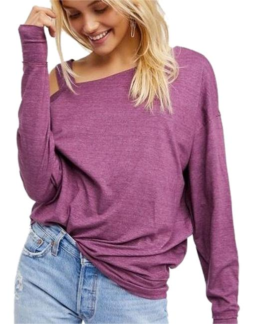 Item - Lavender Slouchy Tee Halter Top Size 4 (S)