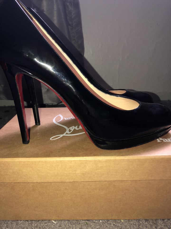 new product d36b6 9bf0b Christian Louboutin Black New Simple Pump 120 Patent Calf 3080746 Platforms  Size EU 42 (Approx. US 12) Regular (M, B) 38% off retail