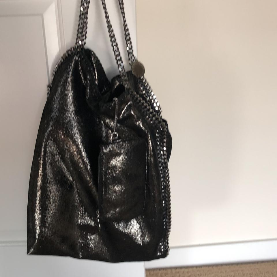 ff03ccb547 Stella McCartney Falabella Large Ruthenium Shaggy Deer Tote - Tradesy