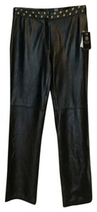 Doncaster Straight Pants Black