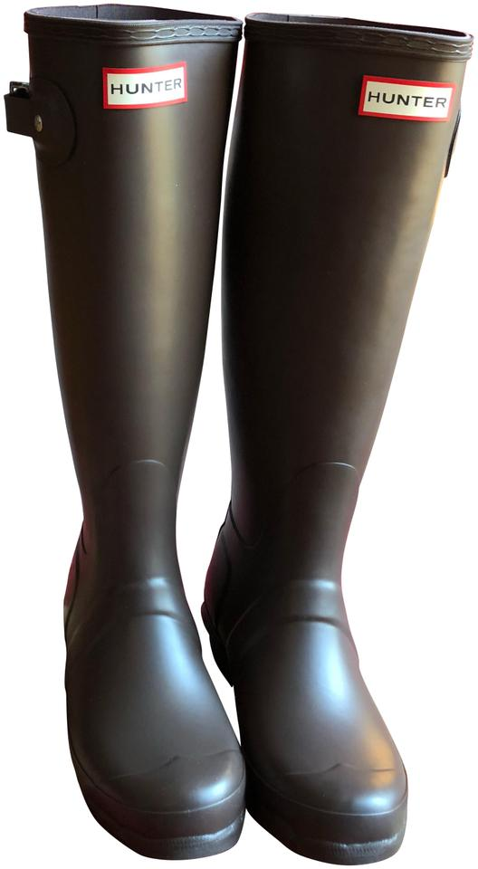 WOMENS Crazy Hunter Chocolate Tall Boots/Booties Crazy WOMENS price d69ee1