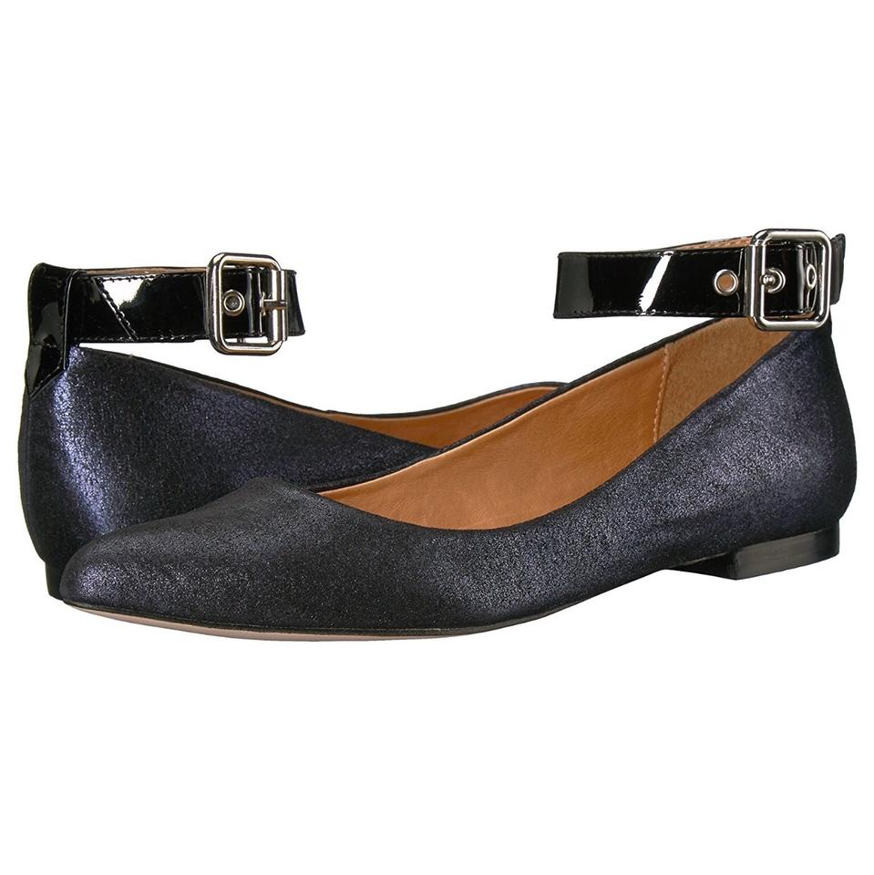 Corso Wide Como Ew Pointy Toe Ballet with Wide Corso Adjustable Ankle Strap Flats 1241a1