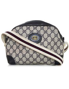 Gucci Monogram Vintage Cross Body Bag