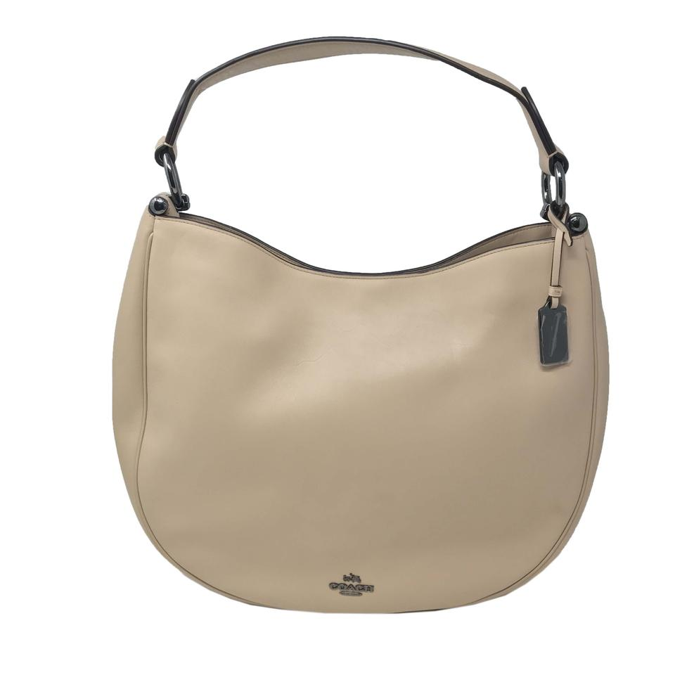 e88c7594fa5 Coach Nomad Beige Leather Hobo Bag - Tradesy