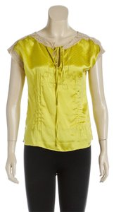 Diane von Furstenberg Top Yellow