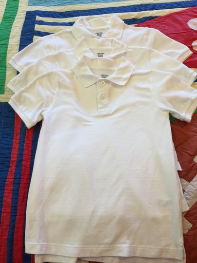 Cherokee 3-Cherokee Child's Ultimate Polos; Short Sleeves, 100% White Pique Cotton (Size 8-10 Classic Fit) [ TommiesCloset ]