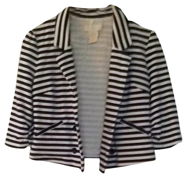 MM Couture Navy & White Jacket