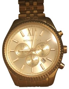 Michael Kors michael Kors gold Lexington watch