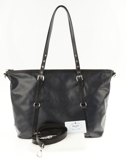Prada Women Handbag Tote in Black Image 10