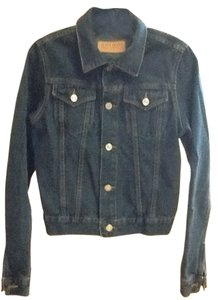 Juicy Couture Dark Denim Womens Jean Jacket