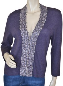 Tory Burch Wool Embellished Sequin Cardigan