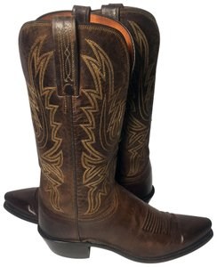 4abbe57d2ad Lucchese Brown 1883 Leather Western Cowgirl Women's Boots/Booties Size US  6.5 Regular (M, B) 52% off retail