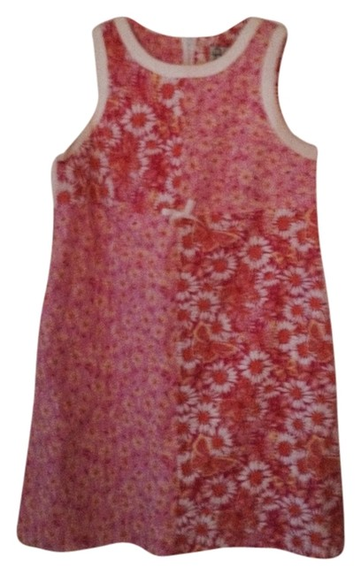 Preload https://item3.tradesy.com/images/lilly-pulitzer-pink-yellow-white-above-knee-short-casual-dress-size-12-l-2303612-0-0.jpg?width=400&height=650