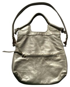 Foley + Corinna Vintage Metallic Tote in Pearl / Light Gold