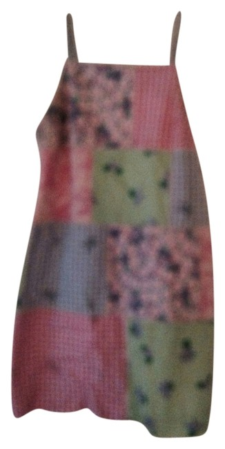Preload https://item3.tradesy.com/images/lilly-pulitzer-blue-green-pink-yellow-sundress-above-knee-short-casual-dress-size-12-l-2303617-0-0.jpg?width=400&height=650