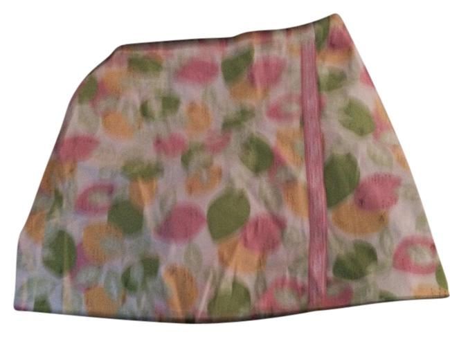 Lilly Pulitzer Skirt Pink yellow green