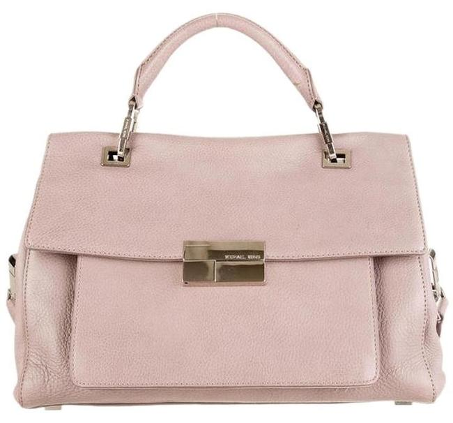 Item - Quinn Small Top Handle Lavender Grey Leather Satchel