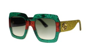 Gucci Gucci GG0102S 006 Multicolored Sunglasses Brand New!