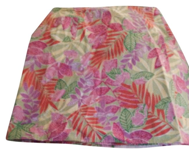 Preload https://item3.tradesy.com/images/lilly-pulitzer-pink-green-yellow-reversible-miniskirt-size-12-l-32-33-2303637-0-0.jpg?width=400&height=650