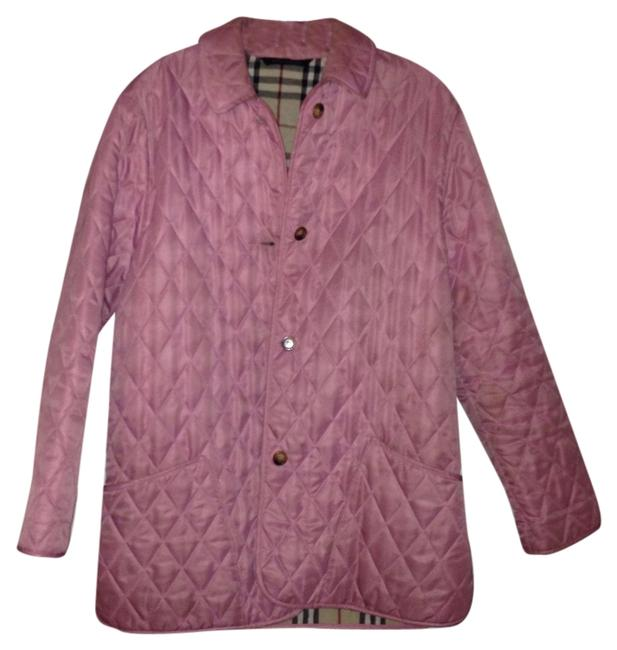 Burberry Classic Quilted Coats Designer Coats Nova Check Vintage Traditional Buttons Colorful Fall Coat Classic Pink Jacket
