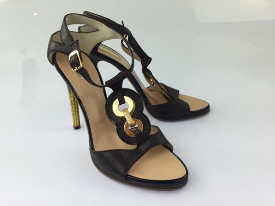 Roberto Cavalli Chocolate Pumps