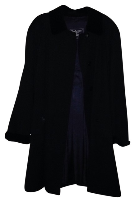 Preload https://item1.tradesy.com/images/burberry-navy-trench-coat-size-12-l-2303670-0-0.jpg?width=400&height=650