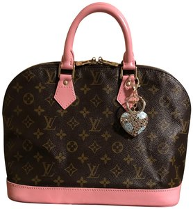 Louis Vuitton Satchel in Petal Pink