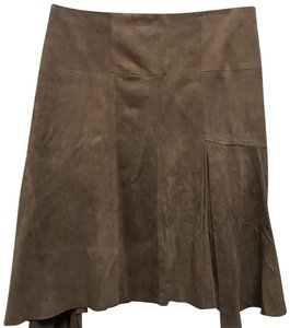 Halston Skirt tan