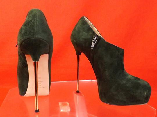 Brian Atwood green Boots