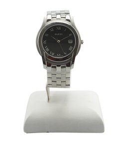Gucci Gucci 5500M Stainless Steel Quartz Watch (145601)