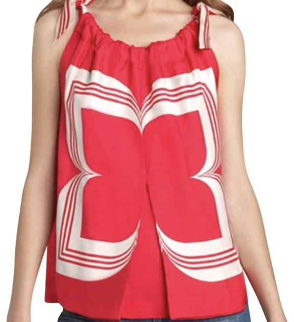 Preload https://img-static.tradesy.com/item/23037233/marc-jacobs-red-and-white-night-blossom-blouse-size-0-xs-0-1-650-650.jpg