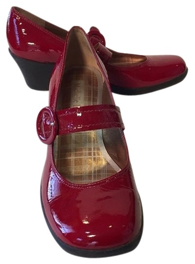 Michelle D Red Wedges