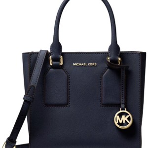 Michael Kors Selby Saffiano Leather Admiral (Navy Blue) Messenger Bag