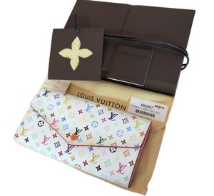 Louis Vuitton Louis Vuitton Sarah Wallet Monogram Multicolor Made in France New box