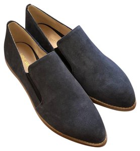Nine West Suede Classic Pointed Toe Comfortable Navy Flats